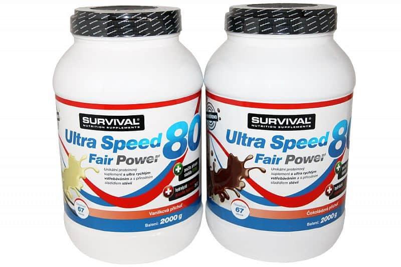 Ultra Speed 80 Fair Power 2000g - VÝPRODEJ