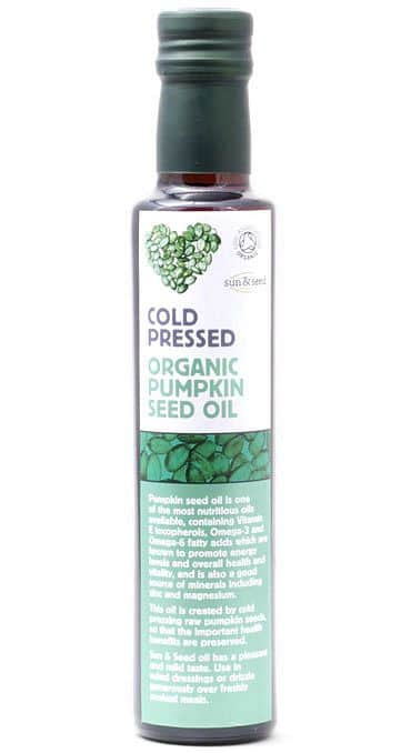 BIO za studena lisovaný olej z dýňových semínek 250 ml - VÝPRODEJ