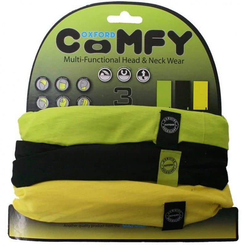 Univerzální multifunkční nákrčník Oxford Comfy 3-pack