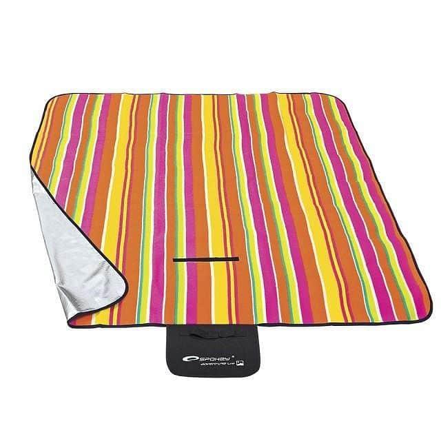 PICNIC STRIPS - Pikniková deka 130x150 cm barevný proužek