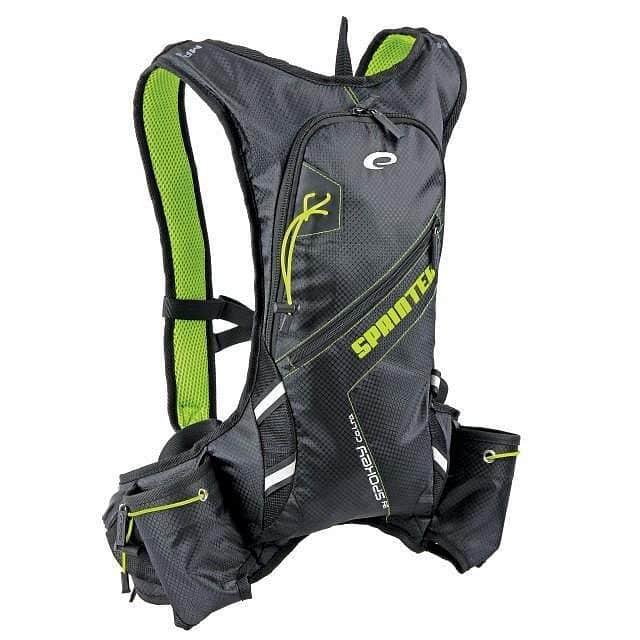 SPRINTER - Cyklistický a běžecký batoh 5l zeleno/černý, voděodolný