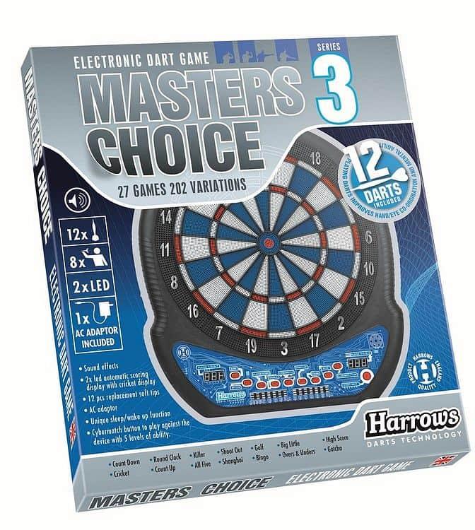 Harrows Elektronický terč Harrows Master Choice Series 3