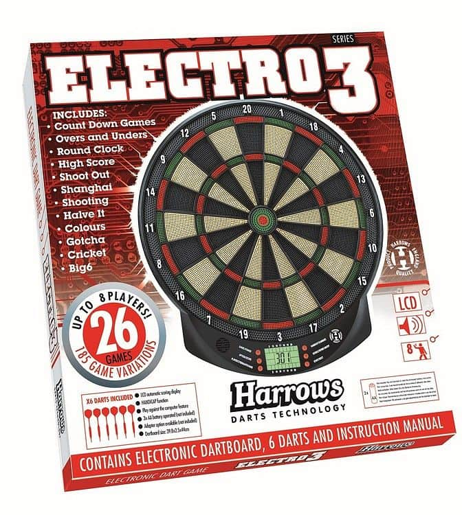 Harrows Elektronický terč Harrows Electro Series 3