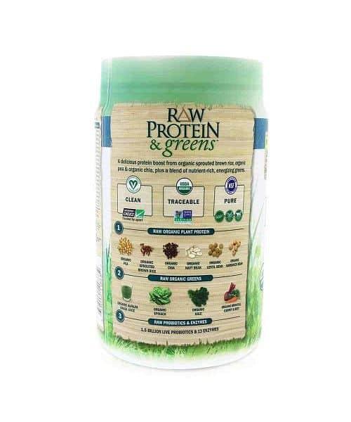 RAW Protein & Greens Organic vanilkový 548g