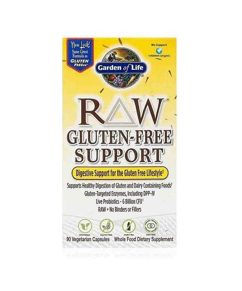 RAW podpora pro zažívání při bezlepkové dietě 90cps