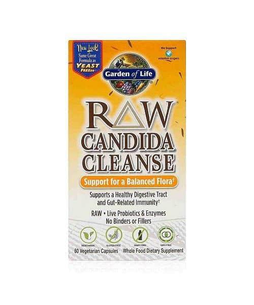 RAW Candida - očista trávicího traktu 60cps