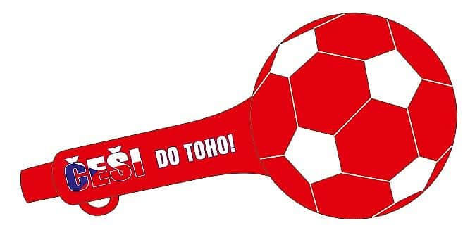 Trubka fotbalový míč ČR 2