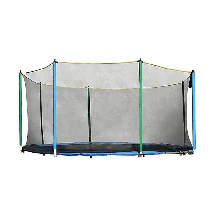 Ochranná síť na trampolínu inSPORTline 430 cm - na navléknutí 8 tyčí
