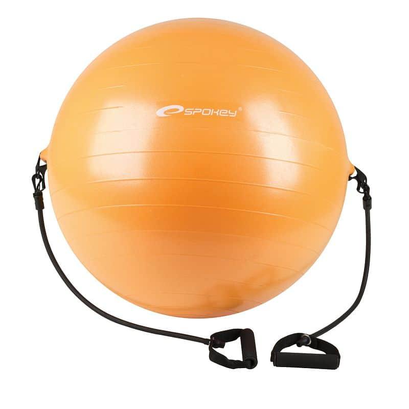 ENERGETIC - Gymnastický míč s expanderem 65 cm včetně pumpičky