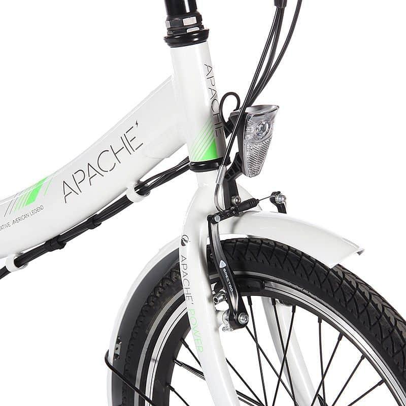 """Elektrokolo Apache Tocho bílá 2016, 16"""""""