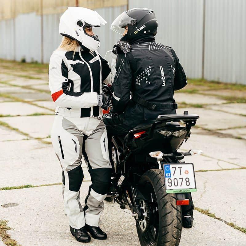 Damské letní moto kalhoty W-TEC Umberto Lady