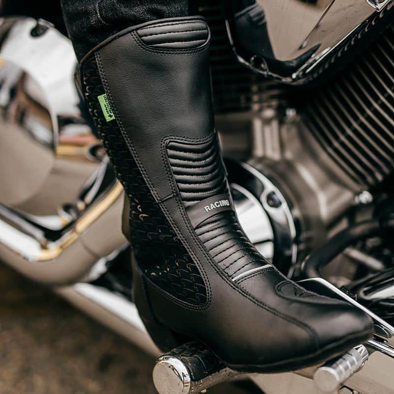 230bfba68a25 ... Dámske kožené moto topánky W-TEC Kurkisa NF-6090 ...