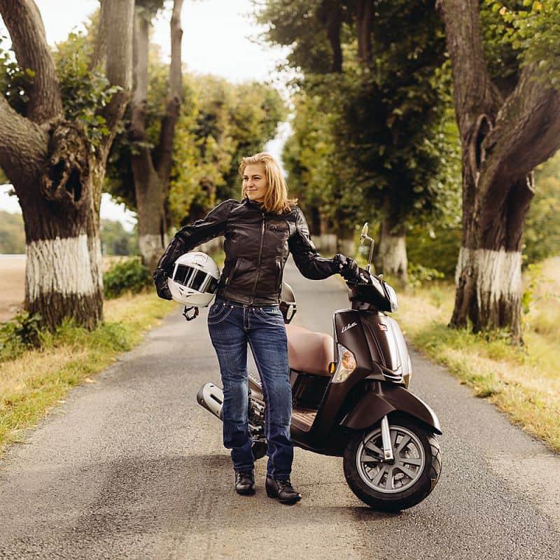 Dámské moto jeansy W-TEC B-2012