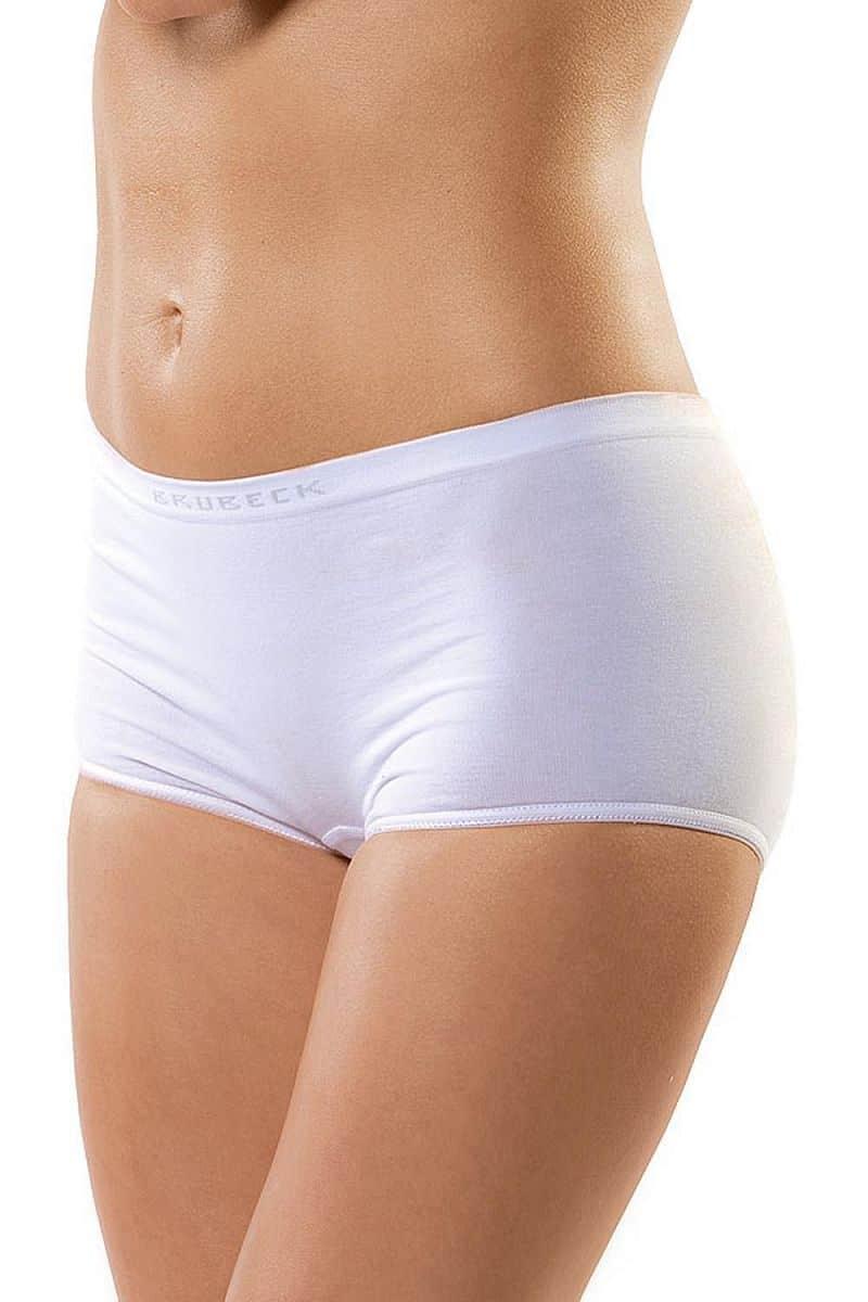 Dámské bezešvé bavlněné kalhotky Brubeck - s nohavičkou