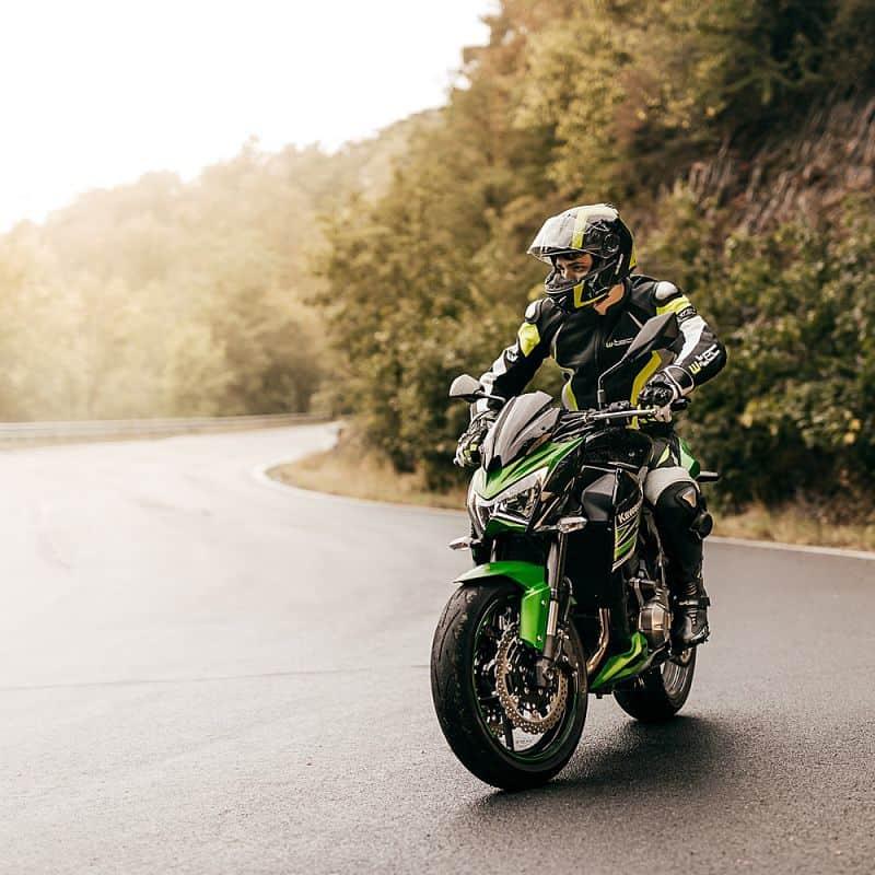 Pánská kožená moto bunda W-TEC Velocity