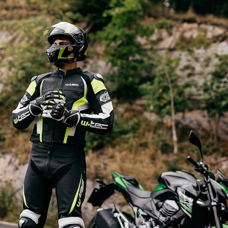 Pánské moto rukavice W-TEC Decane