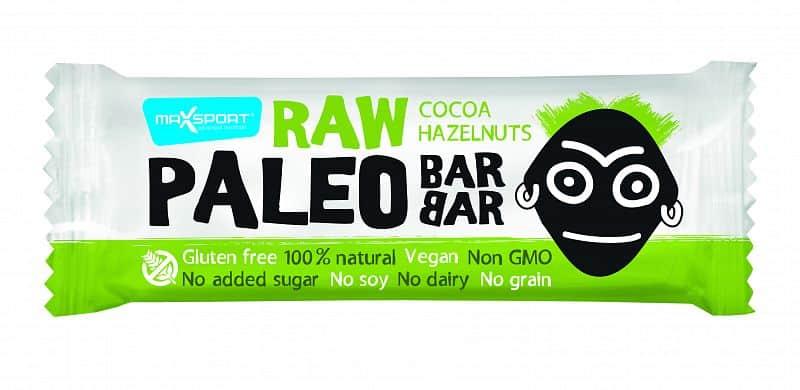 MAX SPORT Paleo Raw Barbar Cocoa Hazelnuts 50g