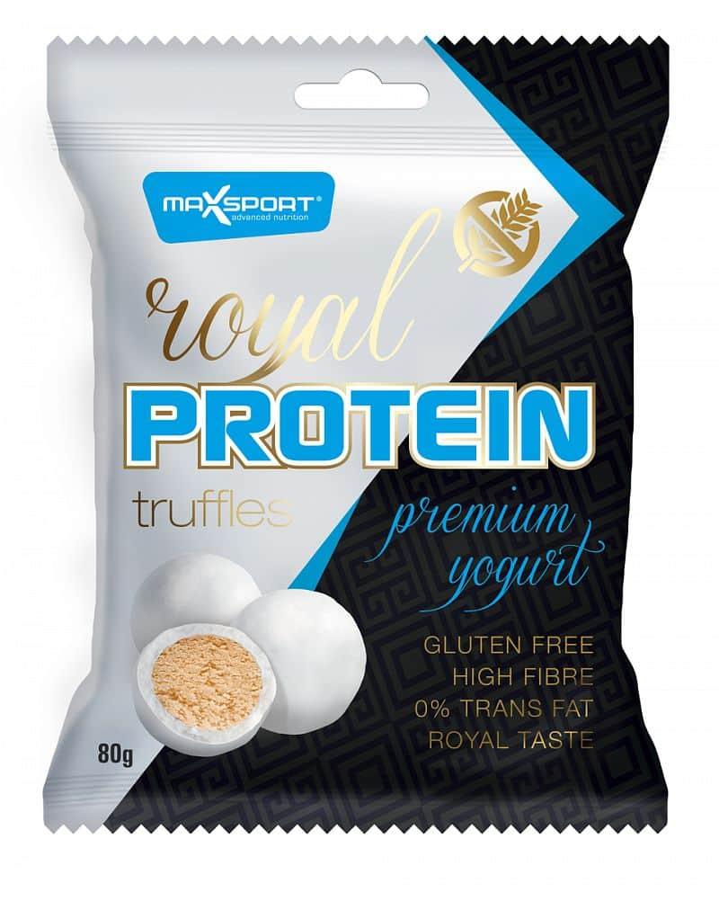 MAX SPORT Royal Protein Truffles Premium Yogurt 80g