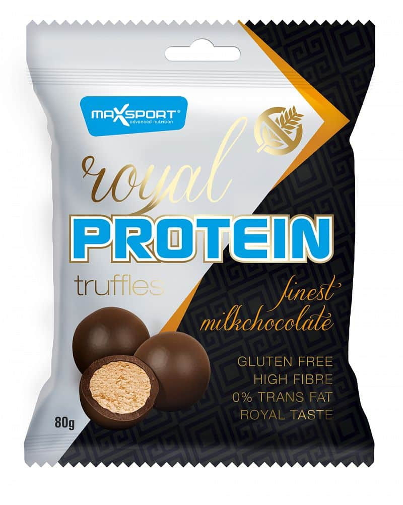 MAX SPORT Royal Protein Truffles Finest Milk Chocolate 80g