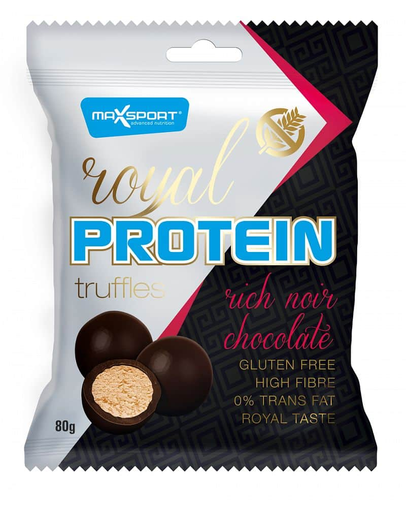 MAX SPORT Royal Protein Truffles Rich Noir Chocolate 80g