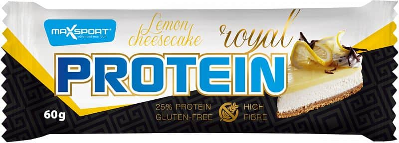 MAX SPORT Protein Royal Lemon Cheesecake 60g