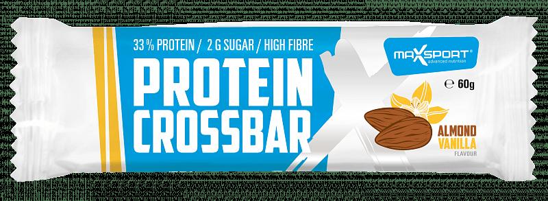 MAX SPORT Protein Crossbar Almond Vanilla 60g
