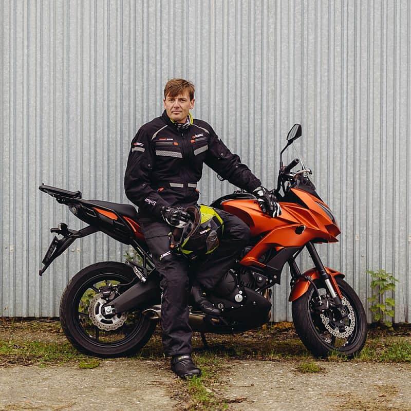 Pánská moto bunda W-TEC Sokar