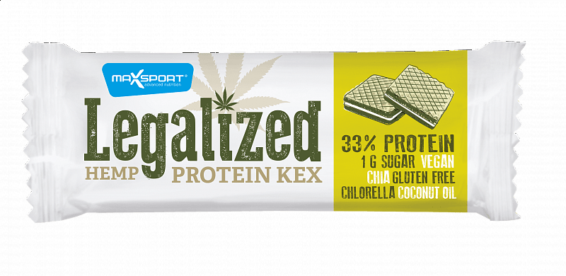 MAX SPORT Legalized Protein Kex Konopný 45g