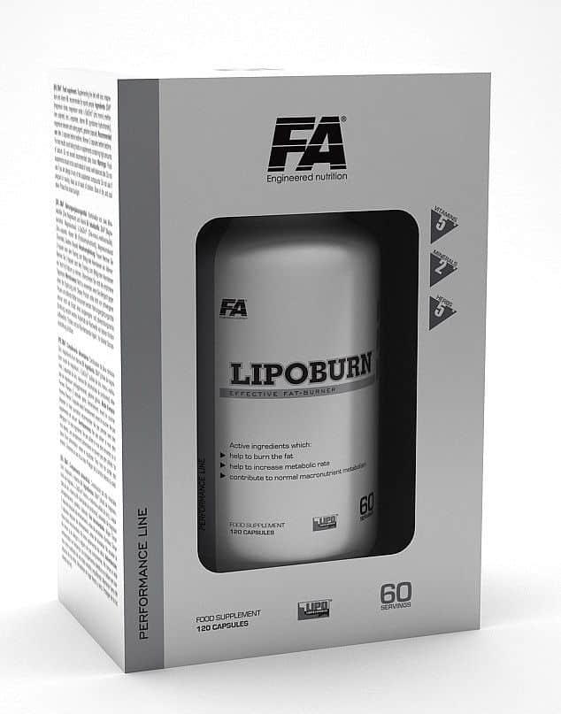 Fitness Authority LipoBurn 60 kapslí