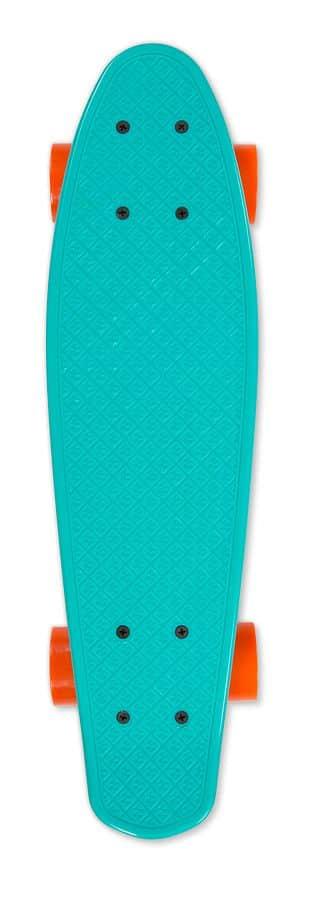 Skateboard FIZZ BOARD Blue Orange, modrý