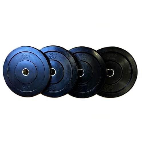Bumper Plate odhazovací gumový olympijský kotouč MUSASHI