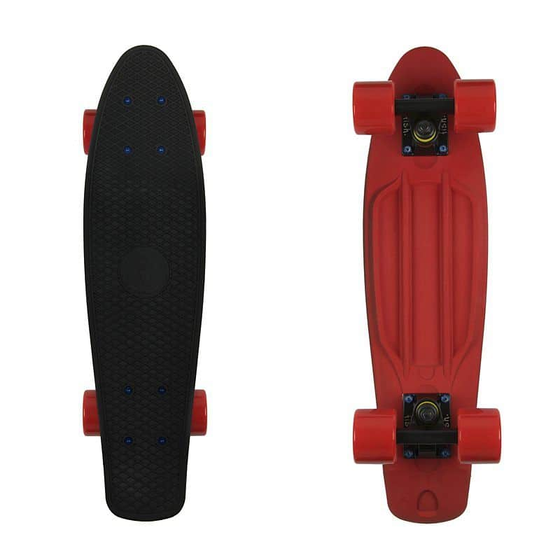 "Penny board Fish Classic 2Colors 22"" Barva Red-Black"
