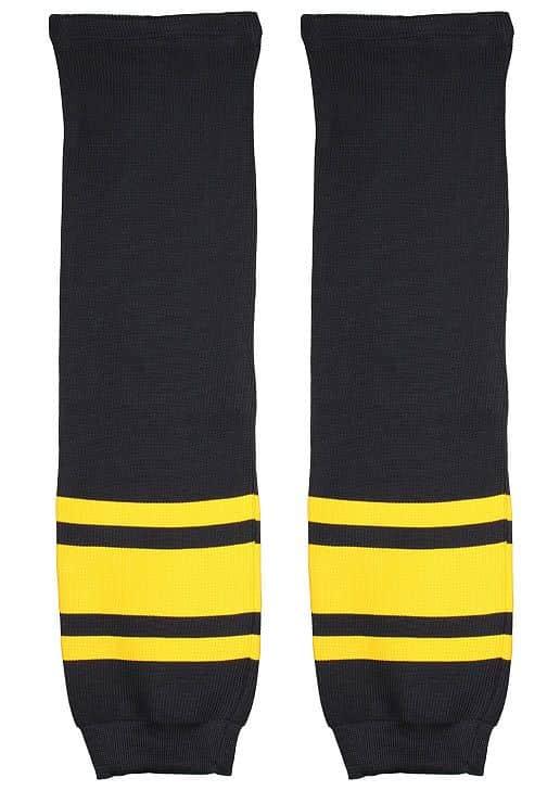 Loko hokejové štulpny junior barva: žlutá-modrá;balení: 1 pár