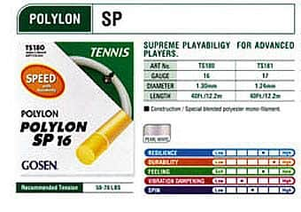 Polylon Speed tenisový výplet  200m