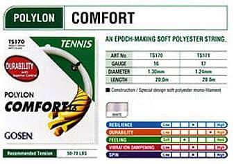 Polylon Comfort tenisový výplet  220m
