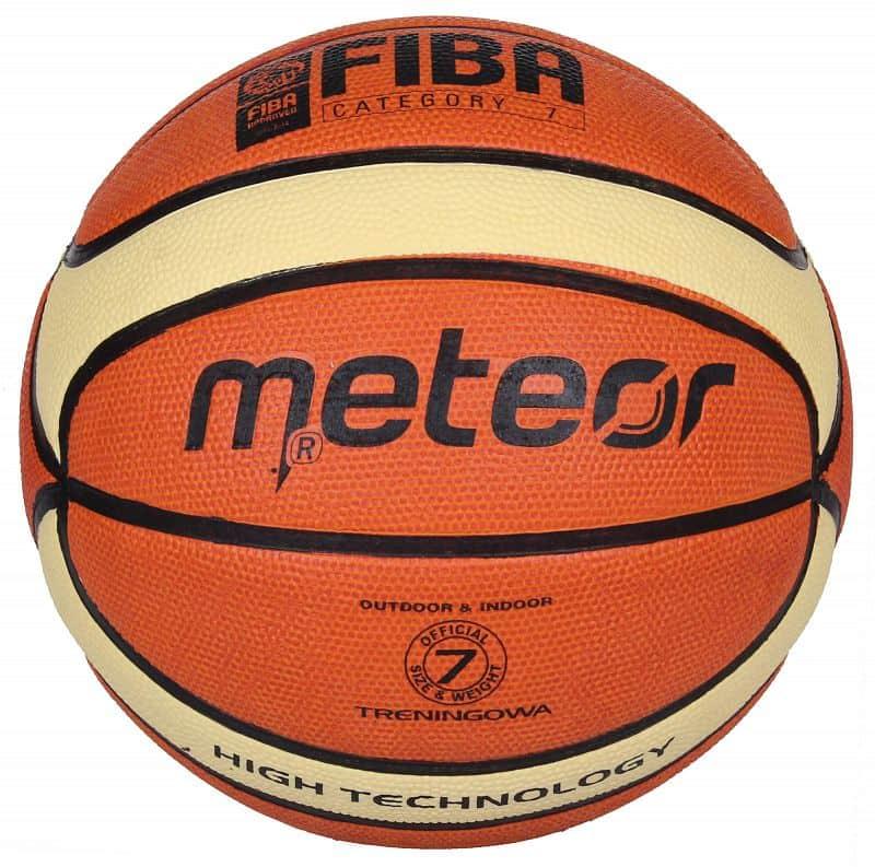 Training FIBA brown/cream basketbalový míč