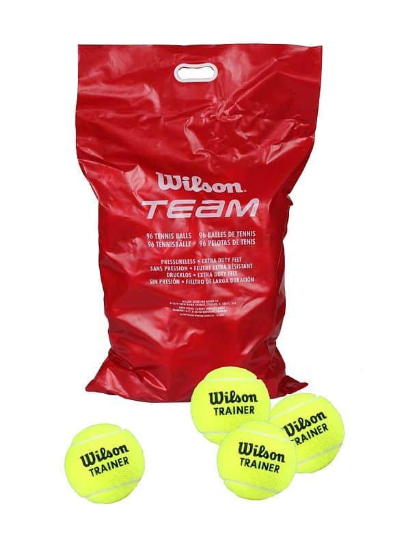 Team W Trainer tenisové míče
