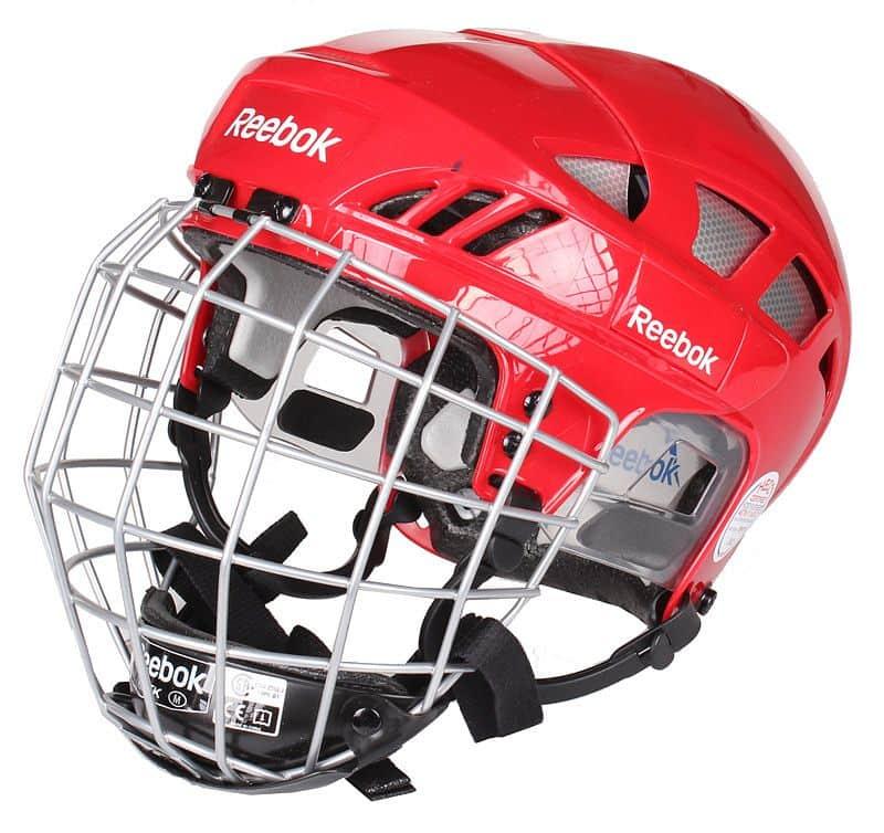 7K Combo hokejová helma s mřížkou S;černá