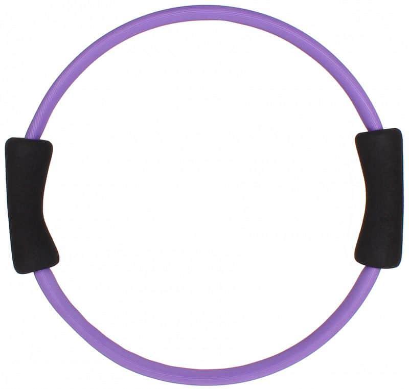 kruh yoga pilates 39cm fialová