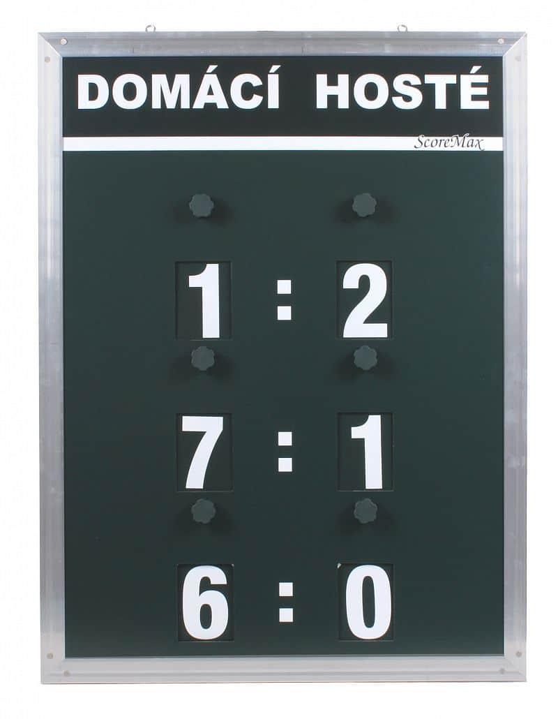Score Max tenisový ukazatel skóre