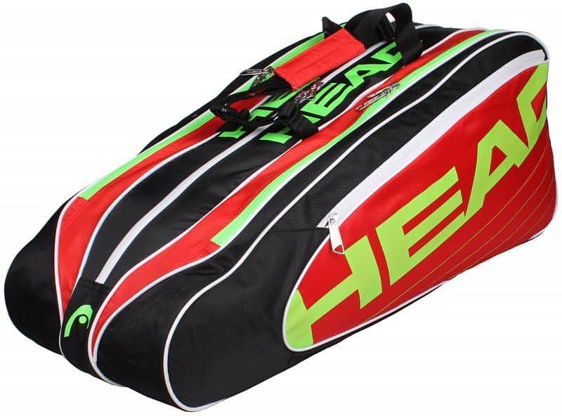 Elite Combi 2014 taška na rakety červená