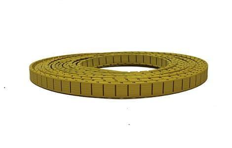 náhradní umělé lajny Geniala žluté ostatní: středová;výška / šířka: 5 cm
