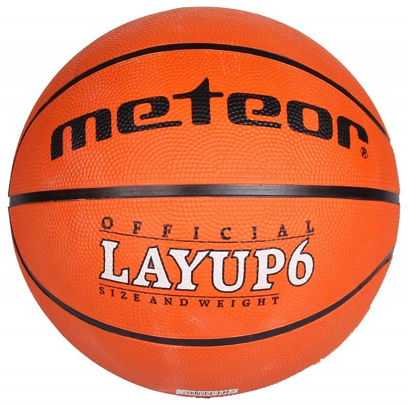 Layup basketbalový míč č. 5;oranžová