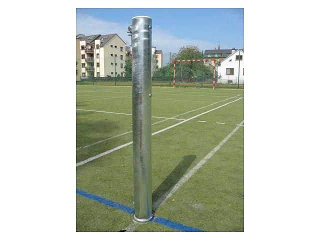 sloupky tenisové - exteriér (ZN) prům.102 mm komplet včetně pouzder