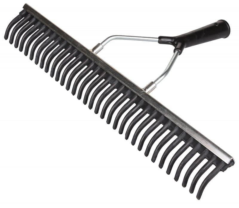 gumové hrábě šíře 50 cm a 75 cm výška / šířka: 50 cm