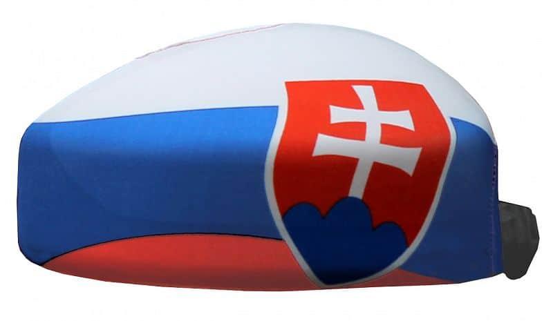 návleky na zrcátka vlajka Slovenská republika 1 pár