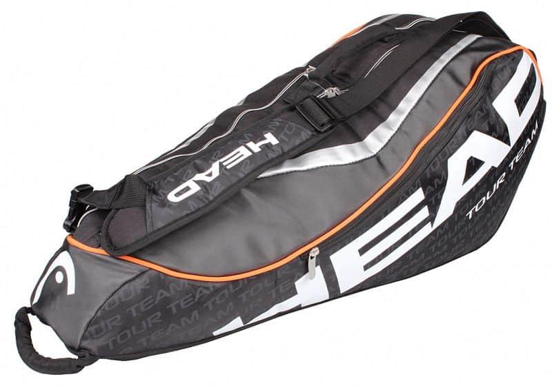 Tour Team 6R Combi 2015 taška na rakety šedá-červená