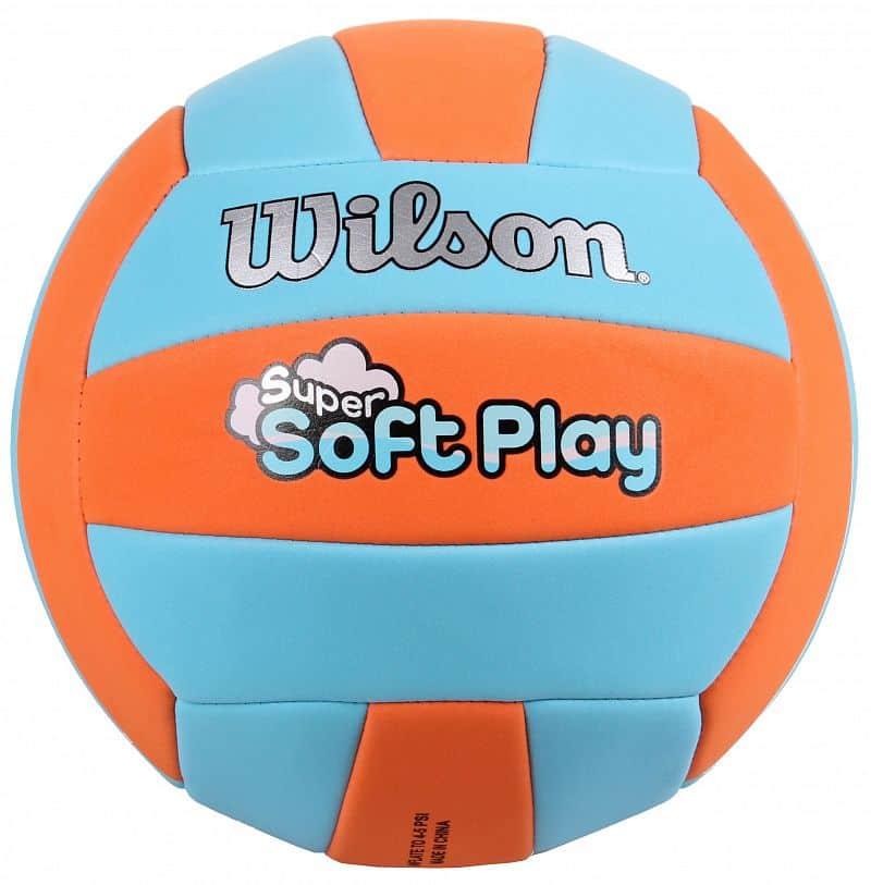 Super Soft volejbalový míč č. 5;žlutá