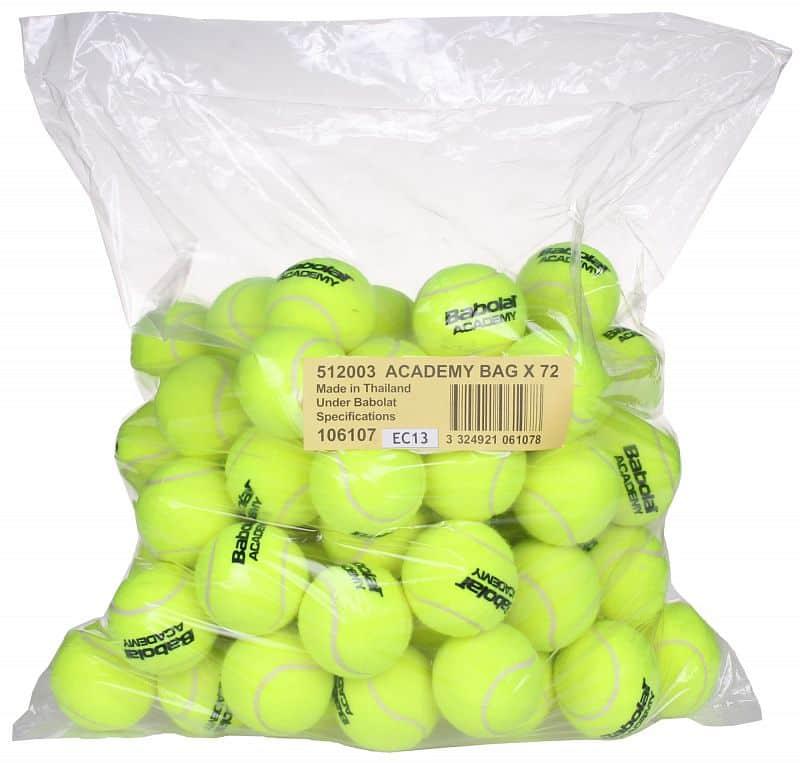 Academy tenisové míče 72 ks