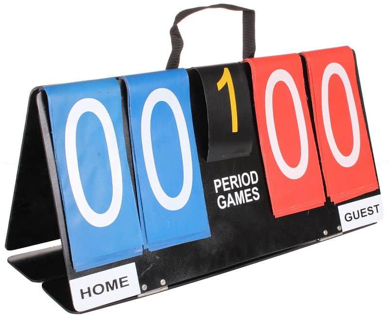 ukazatel skore Counter 0-99 bodů, 1-5 setů